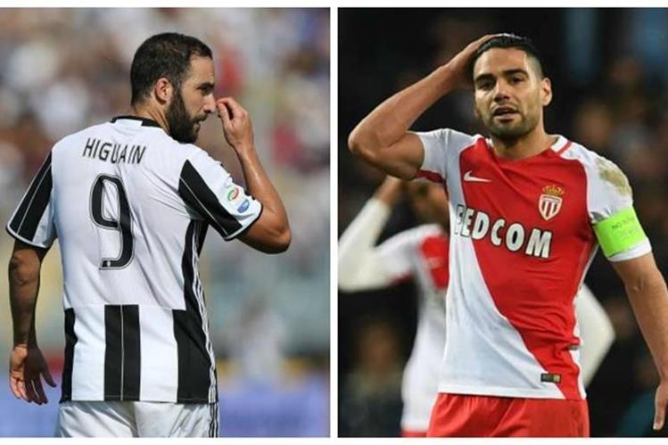 Higuaín y Falcao se verán las caras en las semifinales de la Liga de Campeones de Europa
