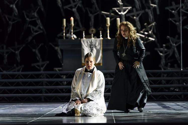 El papel de Norma en esta ópera es uno de los más difíciles del repertorio para una soprano. (Foto Prensa Libre: Cortesía CINEVENTO)