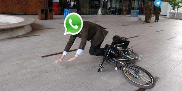 Los desperfectos en Whatsapp provocaron bromas. (Foto Prensa Libre: Hemeroteca PL)