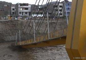 Construir el puente Solidaridad costó US$1,1 millones en 2007. EL COMERCIO/ALONSO CHERO, ALESSANDRO CURRARINO