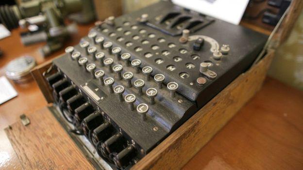 La máquina se vendió en una casa de subastas rumana. REUTERS