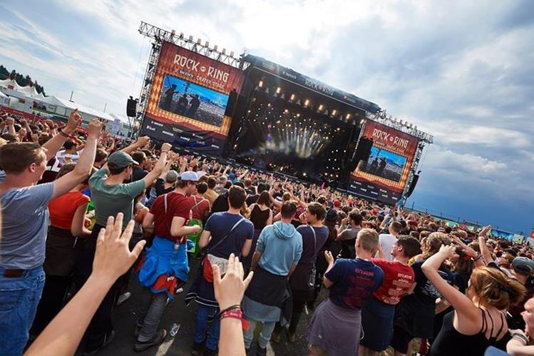 Vista del escenario del festival Rock am Ring, en Nürburg, Alemania. (Tomada de Facebook)