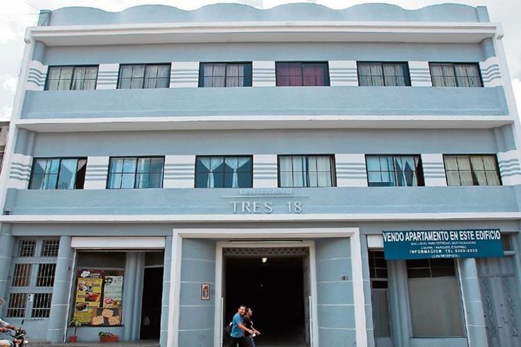 Centenario Tres-18 es un ejemplo de arquitectura art déco del siglo pasado.(Foto Prensa Libre: Álvaro Interiano)
