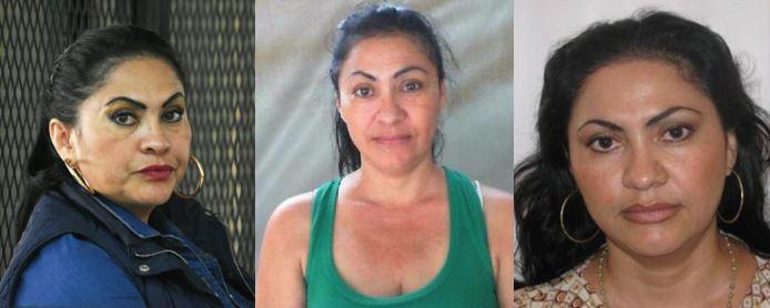 """Marixa Ethelinda Lemus Pérez, alias """"La Patrona"""". Fotos Prensa Libre: Gobernación."""