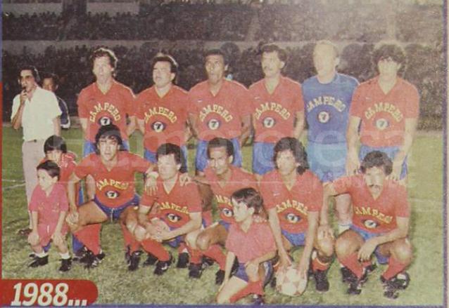 El bicampeón de Liga, Municipal en 1988. (Foto: Hemeroteca PL)
