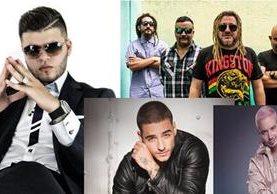 Artistas internacionales ofrecerán conciertos en diferentes lugares de Guatemala. (Foto Prensa Libre: Hemeroteca PL)