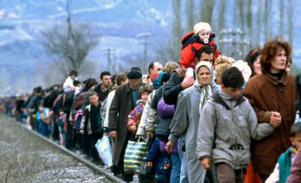 Actualmente hay 16 millones de personas huyendo de conflictos en todo el mundo, según ACNUR.(AFP).