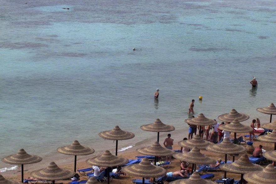 Las playas de Sharm El Sheij son altamente buscadas por los turisas europeos. (Foto Prensa Libre: EFE).