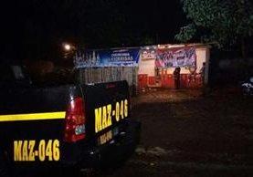 Expendio de licor era propiedad el concejal. (Foto Prensa Libre: Melvin Jacinto Popa)