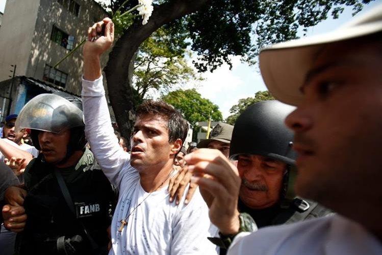 Leopoldo López, opositor venezonalo. (Foto Hemeroteca PL).