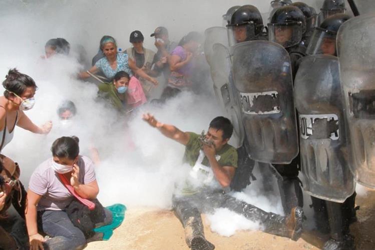 Comunidades de La Puya se han mantenido en resistencia contra el proyecto en San Pedro Ayampuc y San José del Golfo.