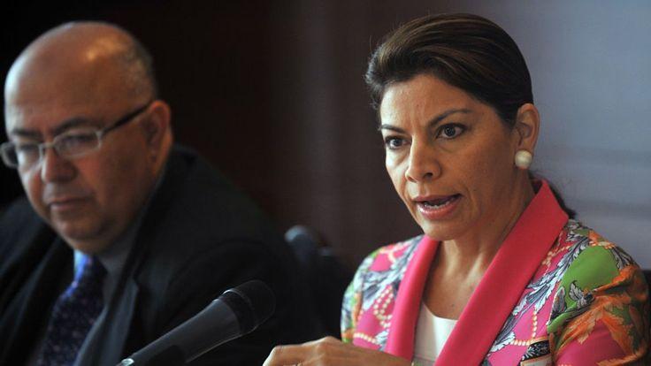La rica y diversa herencia genética de los costarricenses es visible en la expresidenta Laura Chinchilla. AFP