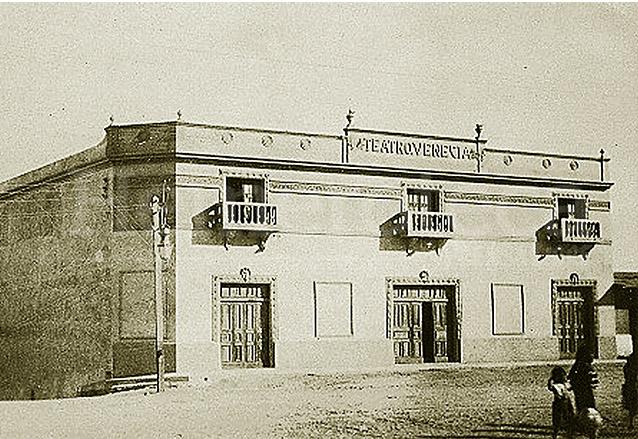 Los guatemaltecos ocupaban su tiempo libre asistiendo al teatro. En la foto el Teatro Venecia que se ubicaba en la Avenida Bolívar.  (Foto: Hemeroteca PL)