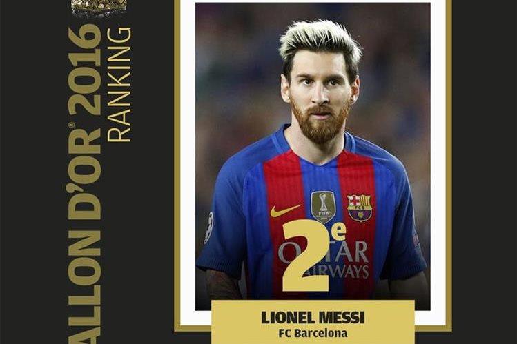 Leo Messi vivió un gran año con el Barcelona y es el máximo ganador del balón de Oro. (Foto Prensa Libre: France Football)