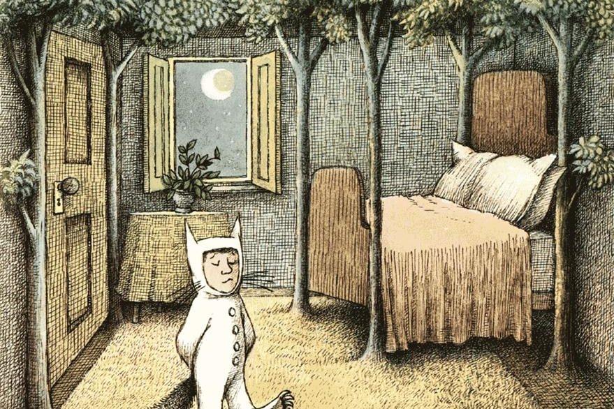 Las ilustraciones de Donde viven los monstruos, son famosos en la literatura infantil. (Foto Prensa Libre: Hemeroteca PL)