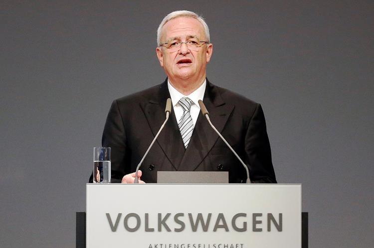 Martin Winterkorn es el presidente de la empresa alemana Volkswagen.  (PL-AP)
