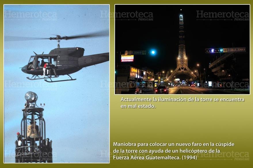 80 años cumplió la Torre del Reformador, sin embargo no luce sus mejores galas. (Foto: Hemeroteca PL)