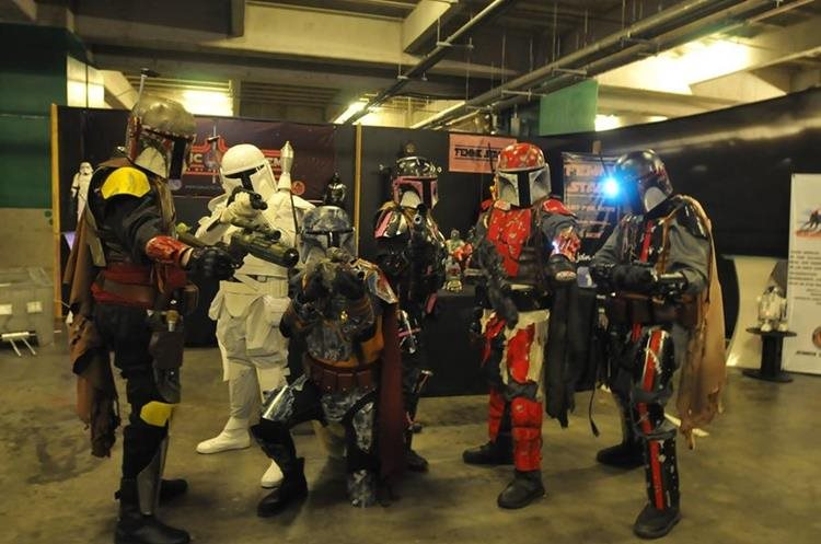 En la Mega Con podrá participar en concurso de cosplay. (Foto Prensa Libre: Hemeroteca PL)