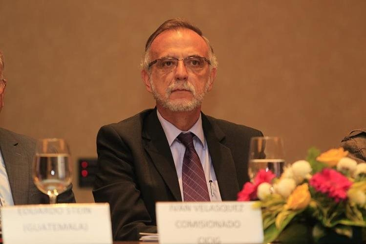Iván Velásquez, actual jefe de la Cicig. (Foto Prensa Libre: Hemeroteca PL)