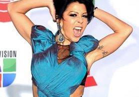 La cantante mexicana recibirá el homenaje por su trayectoria artística. (Foto Prensa Libre. Hemeroteca PL)