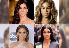 Sandra Bullock, Beyoncé, Jennifer López y Kim Kardashian, se solidarizan con las víctimas de la tormenta Harvey. (Foto Prensa Libre: Hemeroteca PL)
