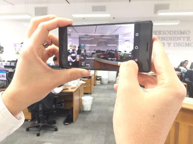La cámara tiene 23MP. (Foto Prensa Libre: Cristian Dávila).
