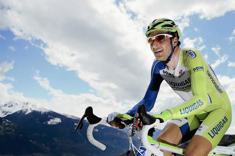 Ivan Basso enfrenta una de las carreras más importantes, la de su vida. (Foto Prensa Libre: AFP)
