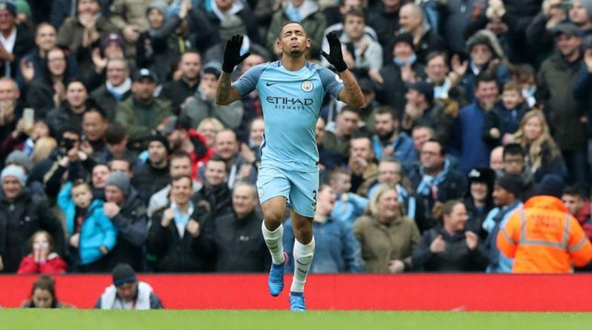 El delantero brasileño Gabriel Jesus se ha convertido en una de las figuras del Manchester City en poco tiempo. (Foto Prensa Libre: Hemeroteca)