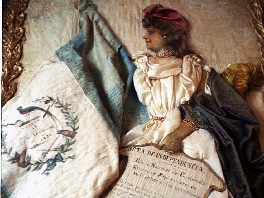Alegoría de la independencia que se encuentra en el Museo Nacional de Historia. (Foto: Hemeroteca PL)