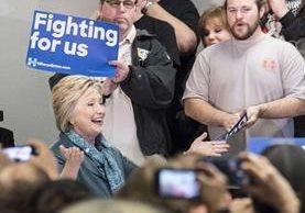 La demócrata Hillary Clinton gana las primarias en Arizona. (AFP)