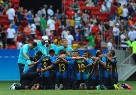 Los hondureños están a un paso de hacer historia en los Juegos Olímpicos 2016. (Foto Prensa Libre: EFE)