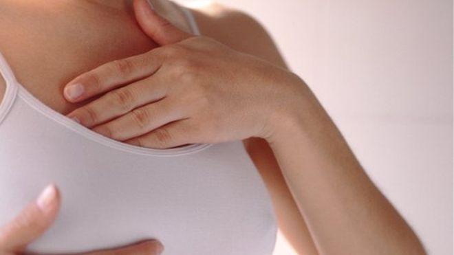 La media de proyección del pezón de la mujer es de 0.9 cm hacia afuera. (Foto, Science Photo Library)