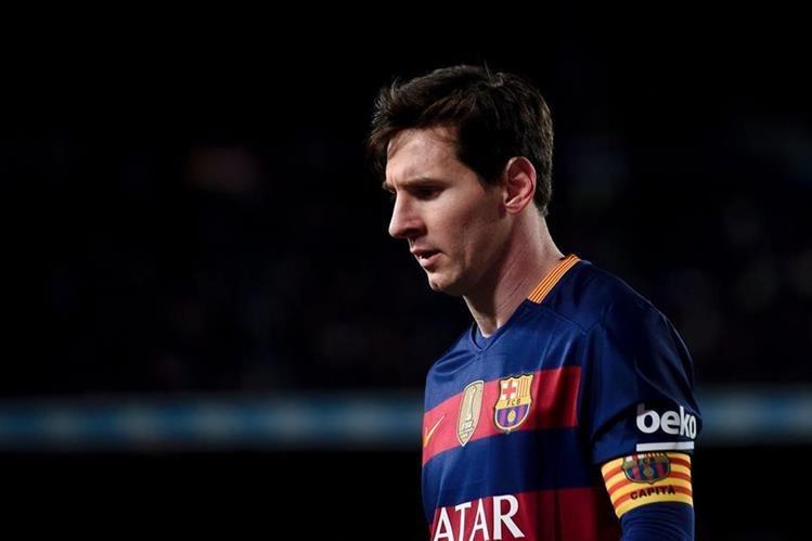 El argentino Lionel Messi confesó que le preocupa que no se logren títulos con su país. (Foto Prensa Libre: Hemeroteca)