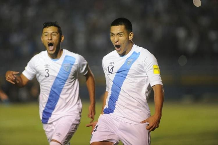 Guatemala se jugará el boleto a la hexagonal final contra Trinidad y San Vicente en septiembre próximo. (Foto Prensa Libre: Hemeroteca PL).