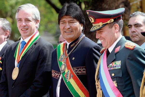 El presidente Evo Morales dijo que el suministro será cubierto por la producción del Gran Chaco. (Foto Prensa Libre: EFE)