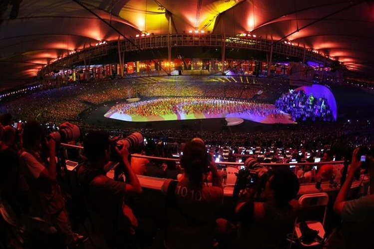 Los Juegos Olímpicos inspiran la musicalidad. (Foto Prensa Libre: EFE)