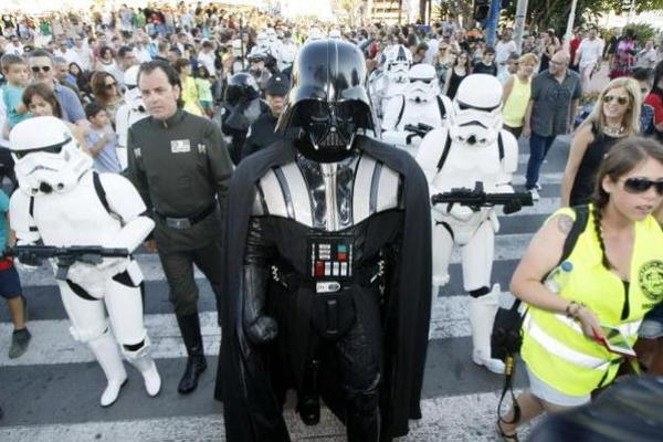 <p>La nueva entrega de Star Wars será protagonista en el 2015. (Foto Prensa Libre: EFE)<br></p>
