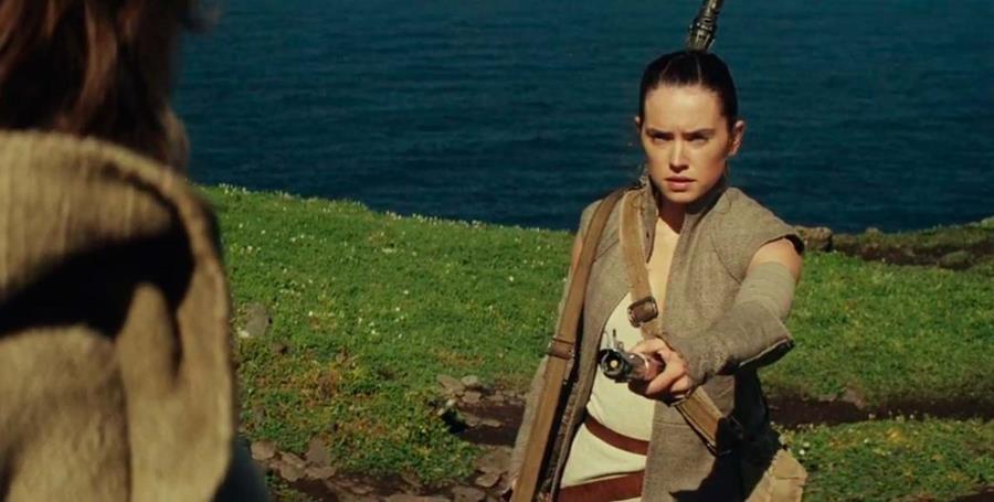 En las primeras imágenes Rey se encuentra con Luke Skywalker. (Foto Prensa Libre: Hemeroteca PL)