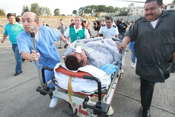 EL Gobernador de Quiché fue trasladado al Hospital Militar.
