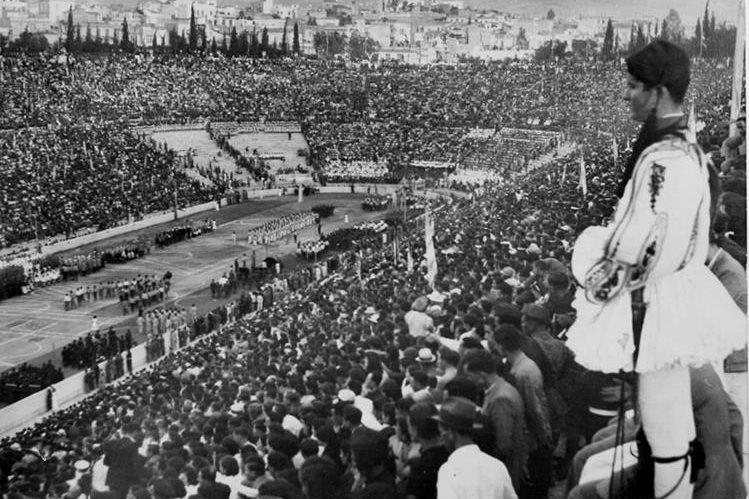 Apertura de los Juegos Olímpicos de Atenas en 1896. (Foto: Hemeroteca PL)