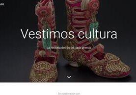 Google logró recabar información sobre la historia de la moda en 30 mil artículos, con imágenes en alta resolución, en el sitio We wear culture.