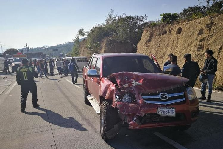 Se desconocen detalles del incidente. (Foto Prensa Libre: Mynor Toc)