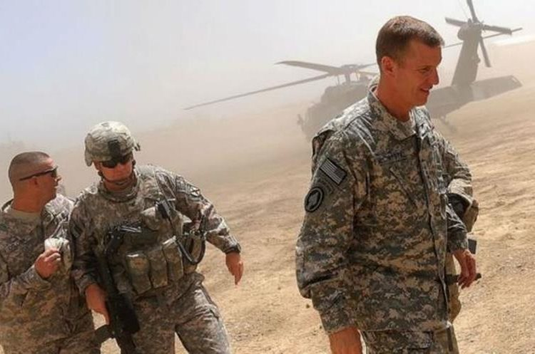 La película está basada en las acciones del general Stanley McChrystal en Afganistán. (GETTY IMAGES)