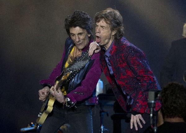 Los Rolling Stones ofrecieron un gran concierto en México. (Foto Prensa Libre: AP)