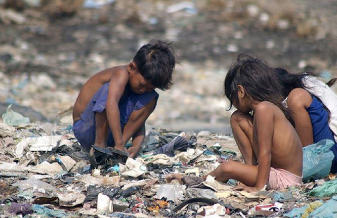 Los niños son los más vulnerables a padecer hambre. (Foto:consejonutrición.wordpress).