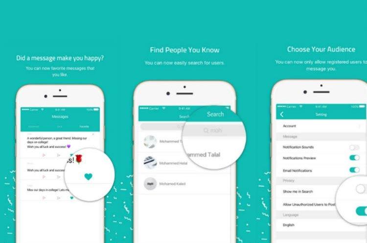 La app nació como una forma de hacer comentarios anónimos a los jefes. (Foto Prensa Libre: sarahah)
