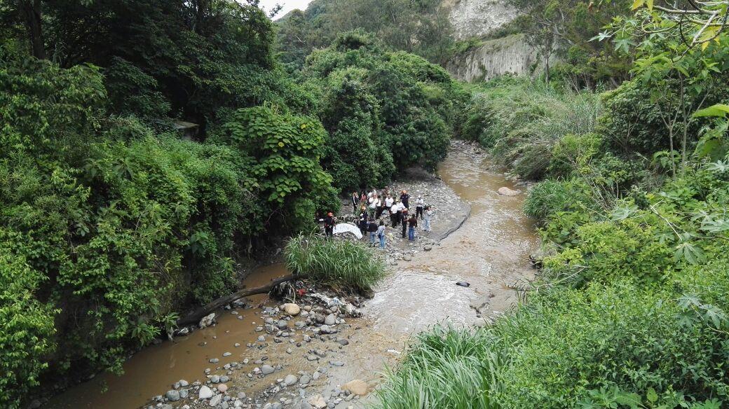 Vista panorámica del lugar en donde fue hallado el cadáver de José Ramón de León Navas. (Foto Prensa Libre: Hemeroteca PL)