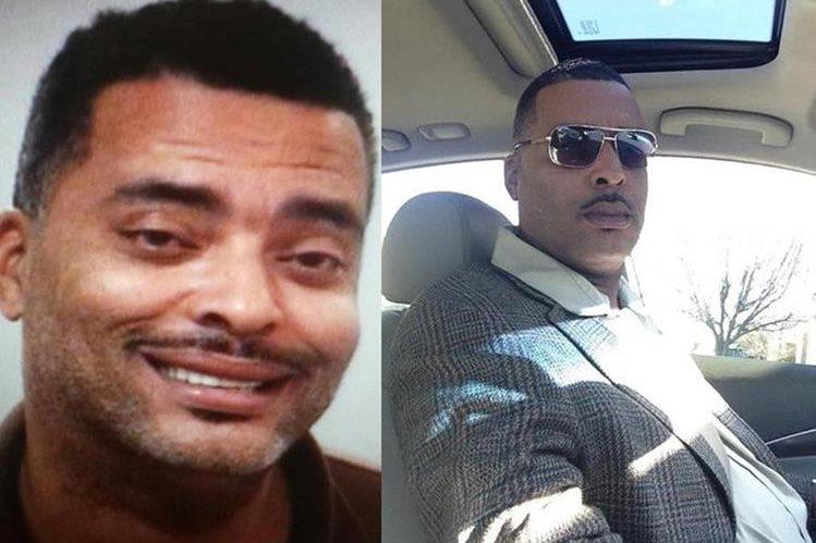 """La imagen de Donald """"Chip"""" Pugh (izq.) que la Policía había facilitado, junto a la que él envió a los agentes. (Fotos Facebook/LimaPoliceDepartment)."""