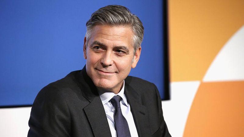 El actor George Clooney también sufrió pérdida de líquido cefalorraquídeo. (Getty Images).