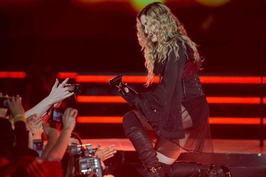 Madonna compartió con sus seguidores. (Foto Prensa Libre: AP)